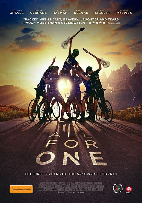 All for One: One for Greenedge Fans   Cycling