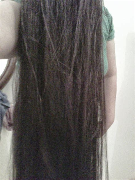 Long Hair Over Face: Ning From Indonesia