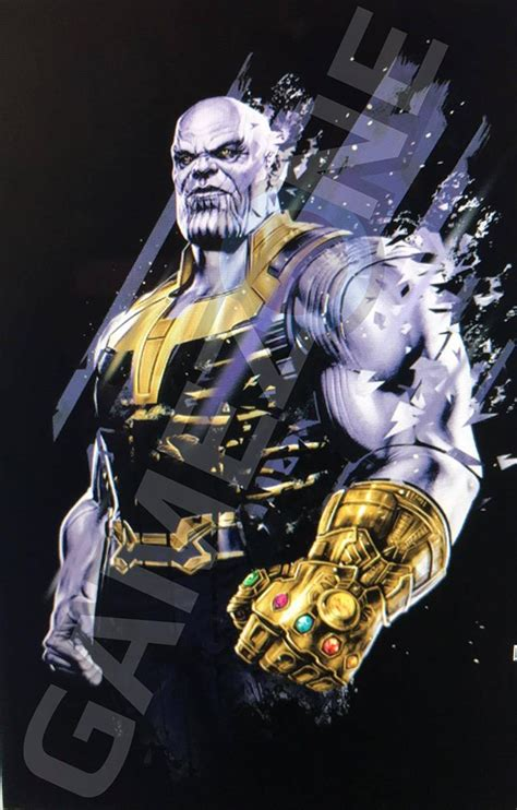 Thanos, Proxima Midnight and Corvus Glaive featured on