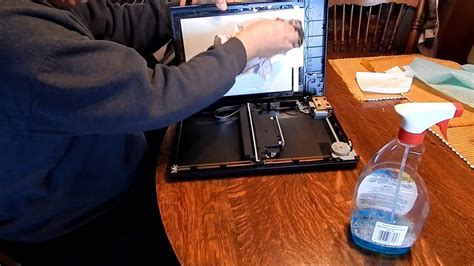 Epson Perfection V200 Scanner - How to clean inside the