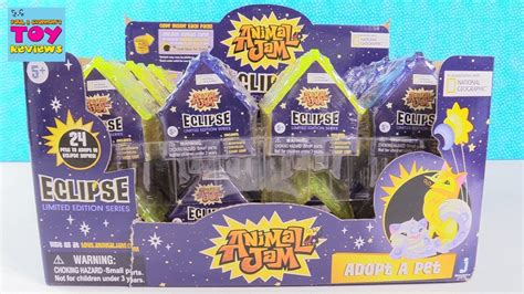 Animal Jam Eclipse Adopt A Pet Limited Edition Series Toy