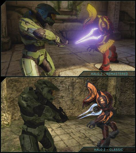 Halo 2: Anniversary Side By Side Comparison Screenshots