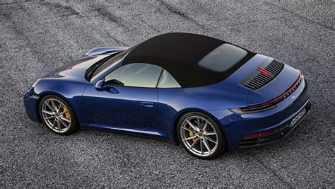 The New 2020 Porsche 911 Cabriolet Can Go Topless In Just