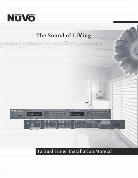 Nuvo NV-T2FX User Manual   32 pages