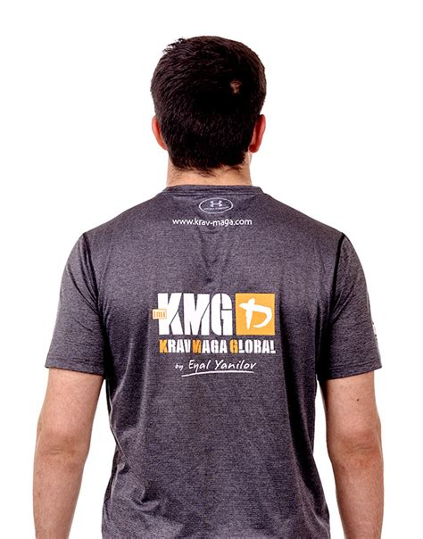 Grey New Design Under Armour Dri Fit Training Shirt for