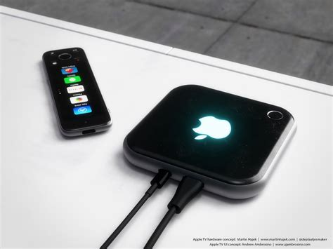 A beautiful Apple TV concept based on iPhone 6 and Apple