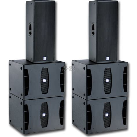 DB TECHNOLOGIES FLEXYS CONCERT 5500W ACTIVE PA SYSTEM