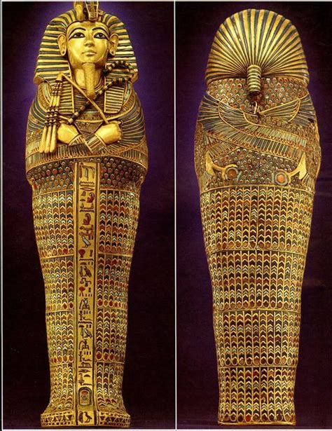 The smile that lasted 3,000 years - King Tut's mummy goes
