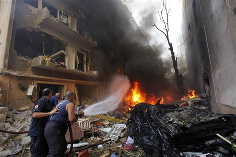 Beirut Bombing: Casualties Reported As Car Bomb Rocks