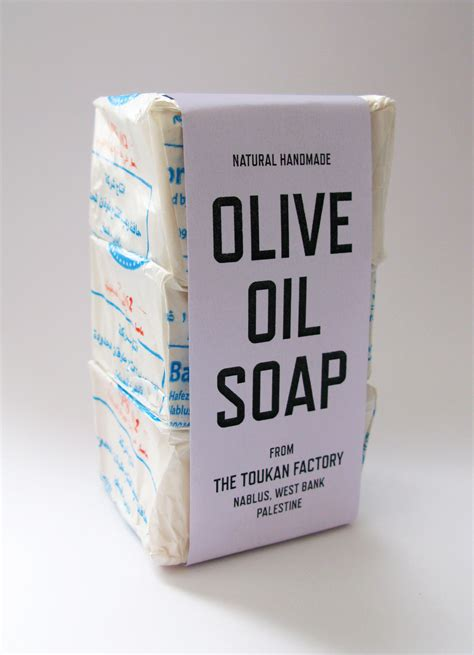 Conflict Kitchen » Olive Oil Soap from Toukan Factory