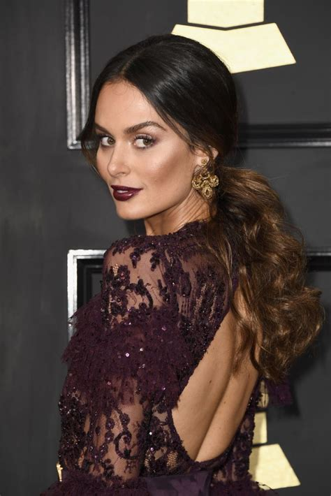 NICOLE TRUNFIO at 59th Annual Grammy Awards in Los Angeles