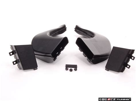 GT2/GT3 rear brake cooling ducts on 997
