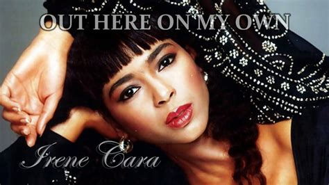 Out Here On My Own - Irene Cara (♪Music Video with Lyrics