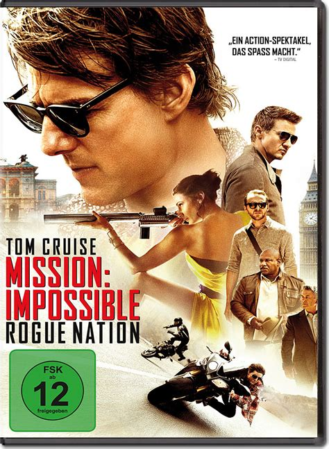 Mission: Impossible 5 - Rogue Nation [DVD Filme] • World