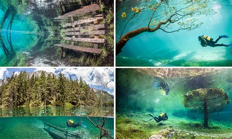 Green Lake, Tragoess, Austria: The park that disappears