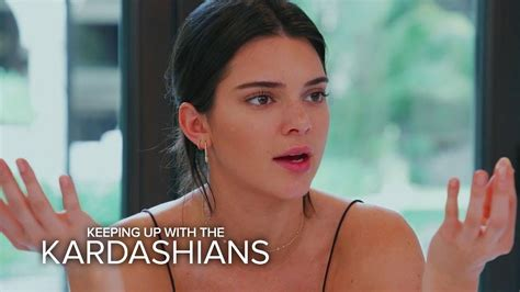 KUWTK   Kendall Jenner Calls Caitlyn's Tell-All Book