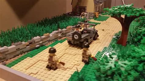 Lego WW2 French Town Ouskirts Moc - YouTube
