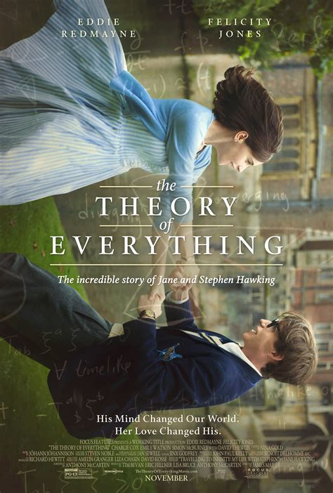 'Theory of Everything' Poster Unveiled for Stephen Hawking