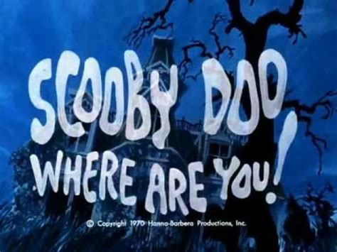 Scooby Doo where are you! - Season 2 - Opening Track - YouTube