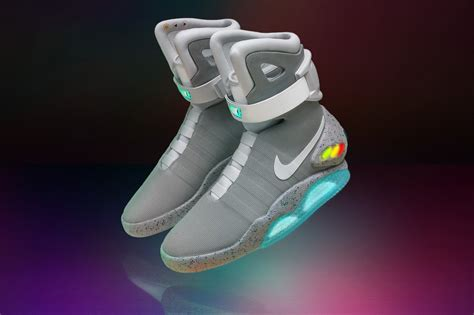 NIKE mag: 'back to the future' shoes make limited edition run