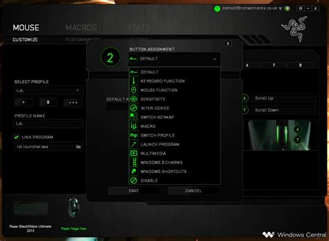 How to set up and configure your Razer Naga gaming mouse