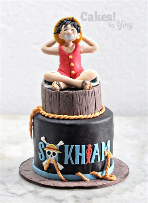 One Piece Monkey D Luffy - Cake by Cakes! by Ying