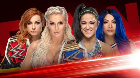 Four Horsewomen Collide In Tag Team Match On WWE Raw