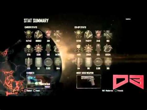 Black Ops 2 Zombies MAX RANK Glitch - How To Get Highest