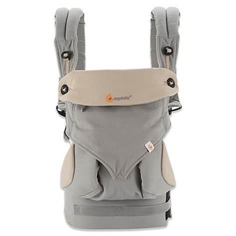 Ergobaby™ Four-Position 360 Baby Carrier in Grey - buybuy BABY