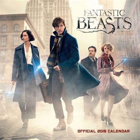 Fantastic Beasts and Where to Find Them - Calendars 2021