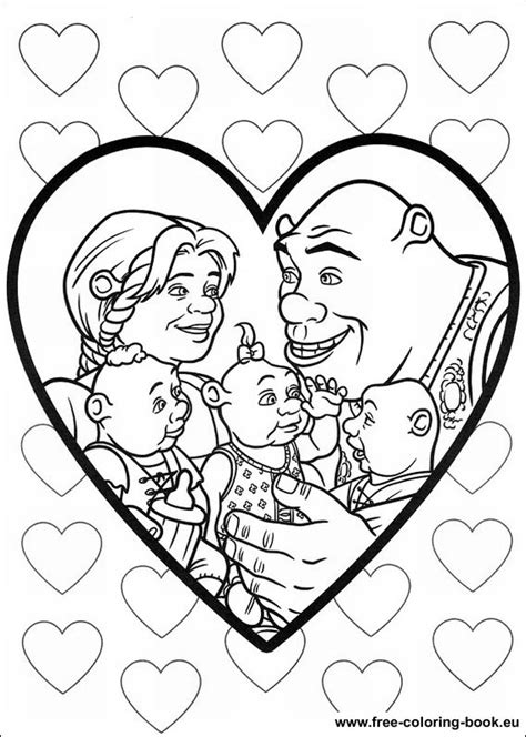 Coloring pages Shrek - Page 4 - Printable Coloring Pages