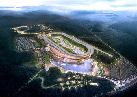 grimshaw wins competition to build racecourse + family