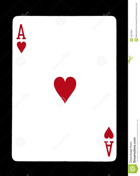 Ace Of Hearts Stock Images - Image: 2021964