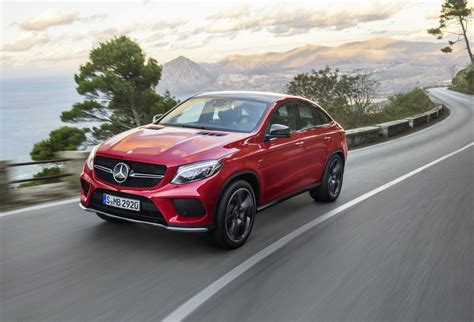 Mercedes-Benz GLE Coupe revealed, debuts AMG Sport '450