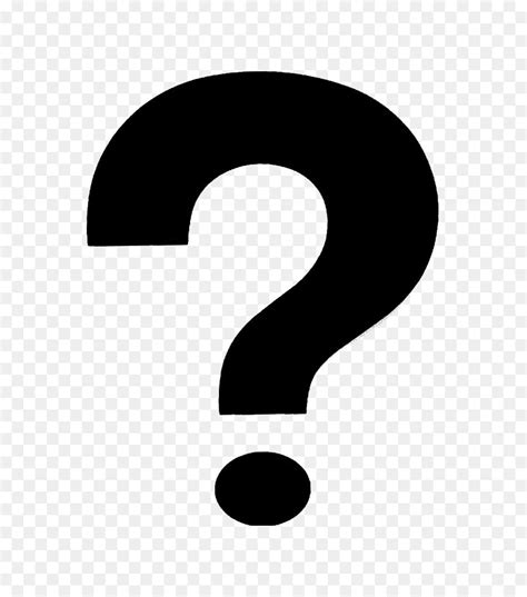 Brand Logo Black and white Wallpaper - Question mark PNG