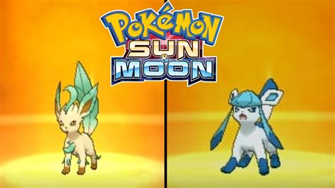 Pokemon Sun and Moon - How To Evolve Eevee to Leafeon