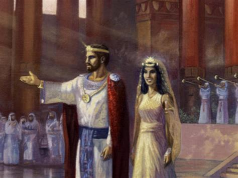The Queen of Sheba's meeting with King Solomon
