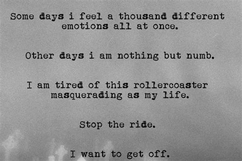 Emotionally Numb Quotes