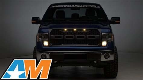 2009-2014 F-150 Barricade Raptor Style Grille w/ LED