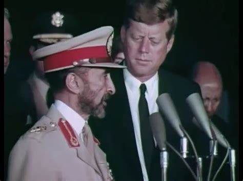 Haile Selassie's Second State Visit to the United States