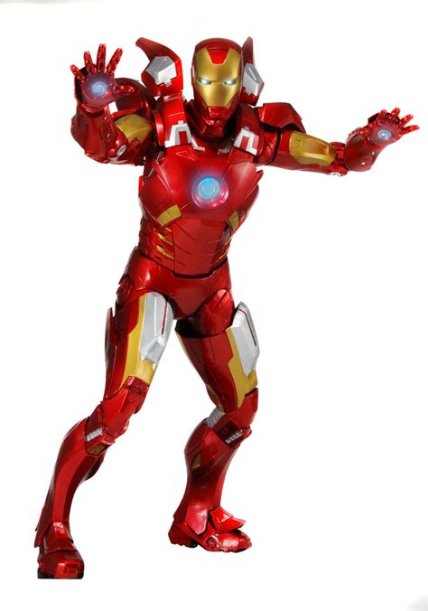 1/4 Scale Iron Man Action Figure – NECAOnline