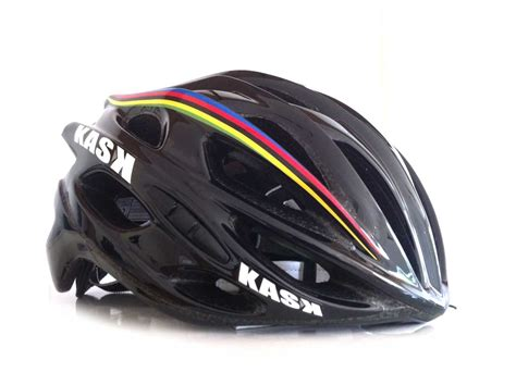 KASK Mojito helmet in World Champ - The Bicycle Chain