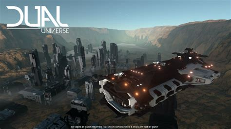 Dual Universe is a daringly ambitious mash-up of Minecraft