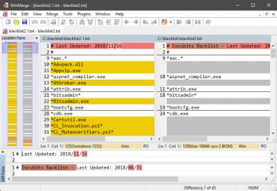 WinMerge - differencing and merging tool | Wilders