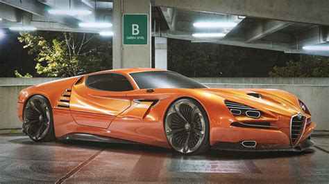 Alfa Romeo Montreal Vision GT Concept Has Our Jaws On The