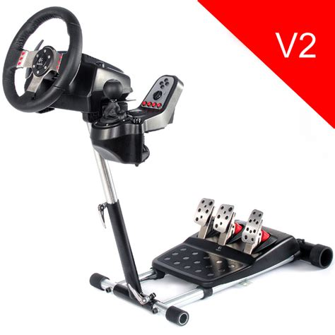 Wheel Stand Pro DELUXE V2 - stojan na volant a pedály pro