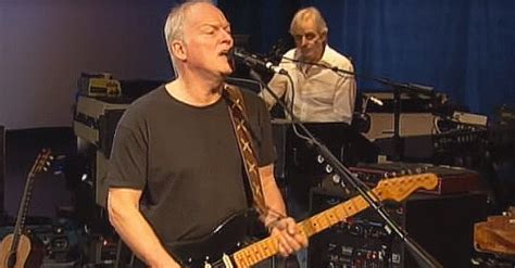 Pink Floyd's David Gilmour, Rick Wright Team Up For